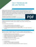 Elementos y Técnicas de Redacción de Los Textos Científicos