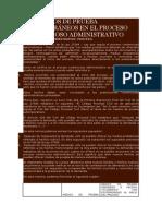 Los Medios de Prueba Extemporáneos en El Proceso Contencioso Administrativo