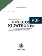 Sin Dios ni Patrones - Víctor Muñoz