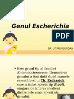 Escherichia Klebsiella Proteus - Curs Dr. Jitaru
