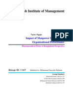 Impact of Manpower Planning