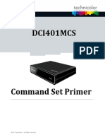 Dci401mcs Command Set Primer