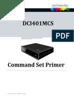 Dci401mcs Command Set Primer
