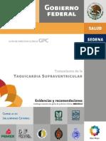 TAQUICARDIAS SUPRAVENTRICULARES