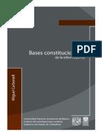 05 Bases Constitucionales de La Reforma Penal - Miguel Carbo