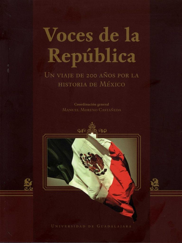 Voces de La República - Manuel Moreno Castañeda UdG. (Universidad de  Guadalajara) 7139a619418