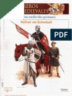 009 Guerreros Medievales Ejercitos Medievales Germanos Osprey Del Prado 2007