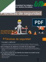 Técnicas de Seguridad Industrial