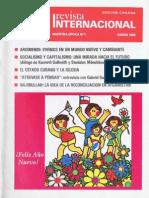 Revista Internacional - Nuestra Epoca N°1 - Edición Chilena - Enero 1988
