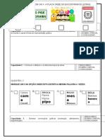 Avaliação de Língua Portuguesa 1º Ano 18 Capacidades Caderno Ceale Mg Dezembro 2015