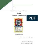 Ensayo Introduccion a La Investigacion Educativa