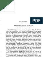 Henri Lefevre - La producción del espacio