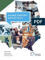 Startup Poland Raport 2015