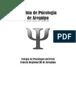 (Revista de Psicología AQP _2011-I_)
