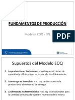 Modelos Eoq - Epl