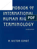 CONDE - A Handbook of International Human Rights Terminology