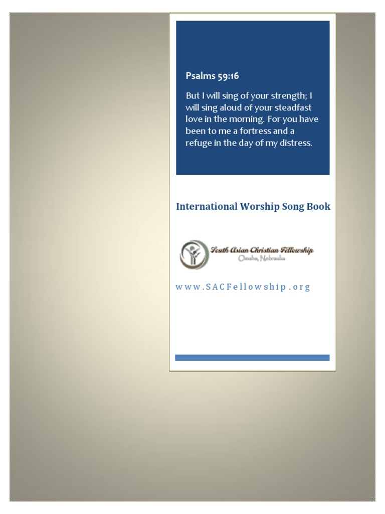 Christian Song book | Religious Belief And Doctrine | Theology