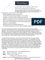 Prisonology CLE Brochure