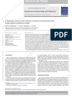 systematic review of the evidence on clitoral reconstruction