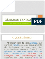 Generos Textuais Slides