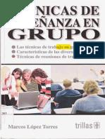 Tecnicas de Enseñanza en Grupo