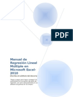 Manual Para Regresion Multiple