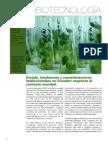 Agrobiotecnología en Ecuador