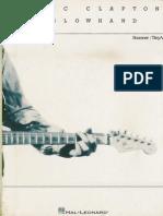 Eric Clapton - Slowhand [Guitar Tab]