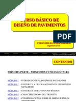 Curso Básico de Diseño de Pavimentos Parte 1 - Fernando Sanchez Sabogal