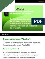FAZcoleta - Coletor de Dados