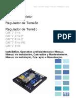 WEG Regulador de Tensao Grt7 Th4 10040217 Manual Portugues Br[1]