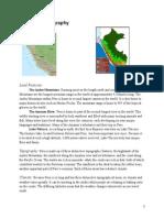 Peru Geography