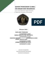 Manajemen Pemasaran Global Perencanaan Dan Organisasi