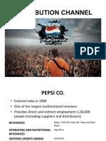 Pepsi Distribution Channel