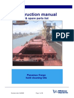 Panamax Cargo Hold Cleaning Manual Rev00