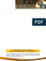 Actividades Complementarias 1 - Funcionamiento e Instalacion Maquinas Electricas Rotativas- SENA