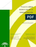 WORKFLOW EN LA ADMINISTRACIÓN ANDALUZA