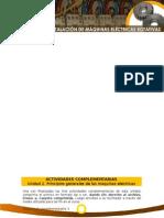 Actividades Complementarias 2 - Funcionamiento e Instalacion Maquinas Electricas Rotativas - SENA