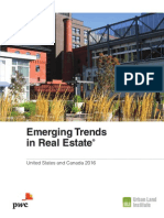 Pwc Emerging Trends in Real Estate 2016