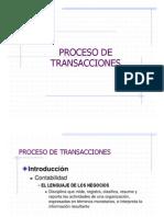Contabilidad Procesos de Transaccion
