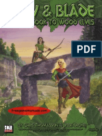 d20 DD Bow & Blade a Guidebook to Wood Elves