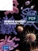 Anitibiotic Resistances Threats Cdc 2013