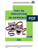 Test de Percepcion (Caras)