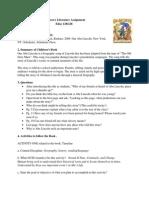 Children's Literature Assignment 1