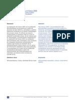 Afrocolombianos y el Censo 2005. Elementos preliminares para el análisis del proceso censal con la población afrocolombiana