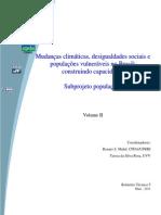 Mudancas Climaticas Desigualdades Sociais e Populacoes Vulneraveis No Brasil Volume II