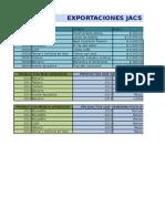 Base de Datos - Export Jacs