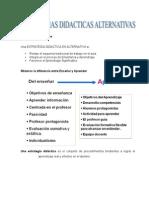 5. Estrategias Didácticas Alternativas