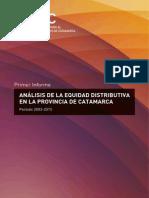 Análisis de la Equidad Distributiba en la Provincia de Catamarca