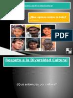 Respeto a La Diversidad Cultural Carta